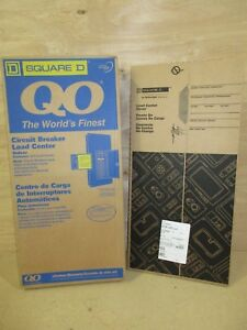 Square D Qo327m100 100 Amp 3 Phase 27 Space Main Breaker Load Center With Cover