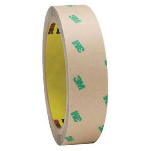 Adhesive Transfer Tape Hand Rolls 1 X 60 Yds 5 Mil Clear Pack Of 2 3m