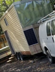 S Solar Powered Tiny House On Wheels Beautiful Wood Ready For On Grid Or Off
