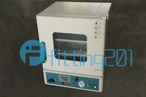 New Stainless Steel Digital Vacuum Drying Oven 250 c 12x12x11 Dz 1bc