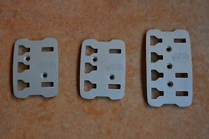 Authentic Momocorse Pedal Kit Technica Silver 3 Pieces New