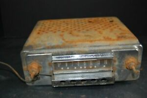 1950 S 1960 S In Dash Car Radio Tube Radio Vintage Car Radio 1951 51 Ford