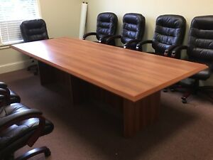 Large 10 Ft Office Meeting Conference Table Only Work Area North Ga
