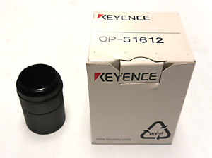 New In Box Keyence Corp Op 51612 Lens Close up Ring Kit C mount