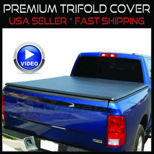 1993 2011 Ford Ranger 6 1 Bed New Tri Folding Tonno Tonneau Trifold Truck Cover