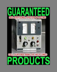 Kepco Ate 6 10m 0 6v 0 10a Metered Variable Regulated Lab Bench Dc Power Supply