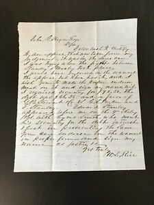 John S Mosby Aka Grey Ghost Historical Documents And Letters