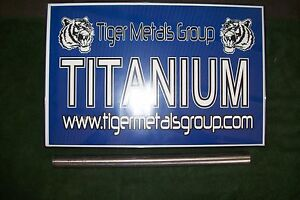 Grade 5 6al 4v Titanium Round Bar 1 250 Diameter X 29 Length 354 As