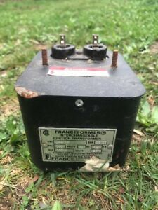 France Franceformer Leew 3 Oil Burner Ignition Transformer Beckett Series A