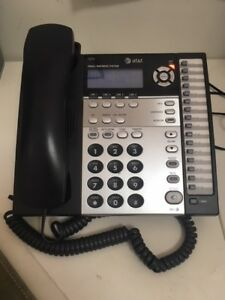 At t 4 Line Small Business System Phone 1070 Excellent Condition 3 For Sale