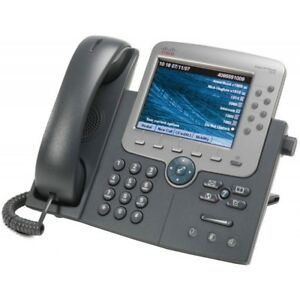 Cisco Cp 7975g 7975g Voip Ip Office Phone W Handset Cords Stand