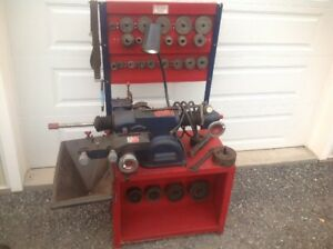 Nice Used Ammco 4000 Flat Top Disc And Drum Brake Lathe Stand Adapters 3 Jaw