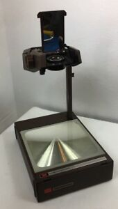 3m 2000 Overhead Portable Fold up Briefcase Transparency Projector Nice