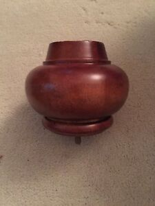 Larger Wood Finial Pedestal 4 Tall 5 Diameter Staircase 4 Post Bed