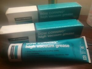 Dow Corning High Vacuum Grease 2 150 Gram Tubes