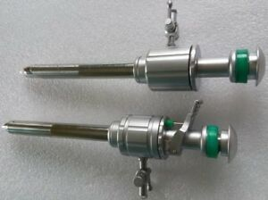 10mm Trocar Cannula With And Without Multi functional Valve Laparoscopy 2piece