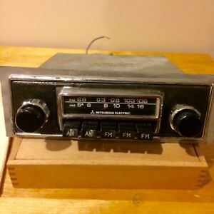 Mitsubishi Electric Am Fm Radio Mg Mgb Looks Like Blaupunkt Vintage Datsun