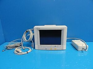 Datascope Passport Xg nibp Ekg Spo2 Temp Print Patient Monitor W Leads 14687