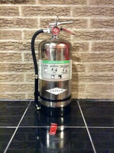 Class K 6l Kitchen Fire Extinguisher And Certified Tag Bracket resturant