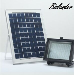 Bizlander 10w108led Solar Light For Business Signage Home Garden Security Jkysr