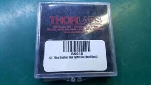 Thorlabs Bs010 50 50 Non polarizing Beamsplitter Cube 400 700 Nm 10 Mm