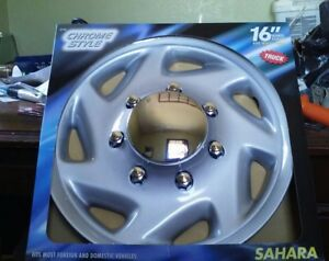 16 Wheel Skins Hubcaps Covers Set Of 4