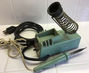 1 weller W tcp l Soldering Station Controlled Output Iron Stand Wtcpl Preowned