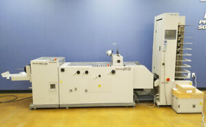 Horizon Vac 100 Collator Spf 20 Fc 20 Booklet Maker Duplo Plockmatic Morgana