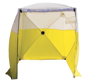 Pelsue 6506a Tent 6 Ground Tent Model A 72 x72 Window Double Zipper Front Door