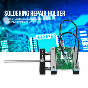 Circuit Board Soldering Station Pcb Repair Holder Fixture With Two Caliper Clamp