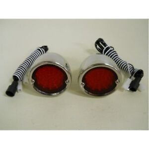 1954 1959 Chevy Truck Red Led Stopturn Tail Lights 1955 1956 1957 1958 Ss