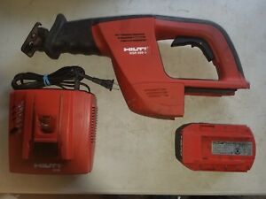 Hilti Wsr 650 a 24v Cordless Sawzall W Battery And Charger