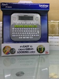 Brother P touch Pt d210 Electronic Labeling System Label Maker Writer Printer