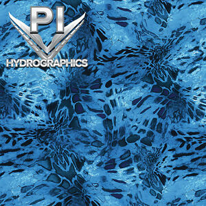Hydrographic Dip Hydrographic Film Water Transfer Hydro Dipping Blue Camo Rc 413