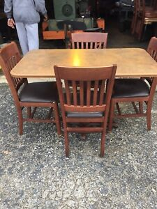 Bob Evans Liquidation Commercial Restaurant Tables And Chairs 4chairs 1table