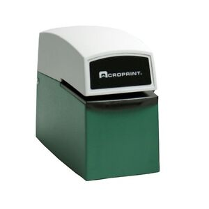 Acroprint Et Heavy Duty Document Stamp Time Clock 01 5000 001 New