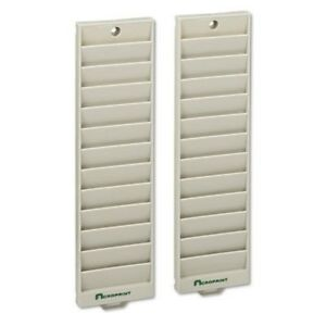 Acroprint 12 Pocket Badge Rack pack Of 2 81 0116 003 Attendance Time Card Rack