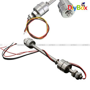 200mm 304 Stainless Steel Liquid Float Switch Water Level Sensor Double Ball