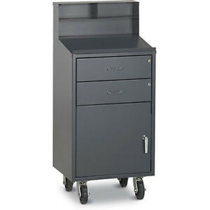 Relius Solutions Drawer cabinet Combination Mobile Shop Desk 23x20x52 Lot Of