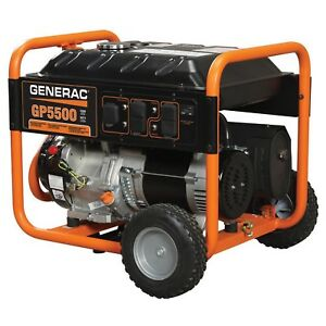 Generac Portable Generator csa 5500w Lot Of 1