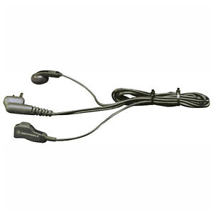 Motorola 5386 6 Earbud With Clip Ppt Microphone For Rdx Xtn Cls Ax Dtr