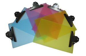 6 Pack Standard Size Plastic Clipboard 12 5 x9 2 Pink 2 Yellow 2 Blue