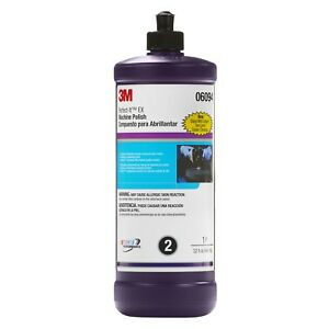 3m 06094 Perfect it Ex Machine Polish Automotive Detailing Compound quart