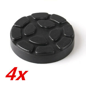 4pcs Heavy Duty Post Arm Rubber Pad For Ravaglioli Werther Car Lift Accessories