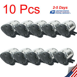 10x Portable L80 Pneumatic Pulsator Cow Milker Milking Machine Dairy Farm Cattle
