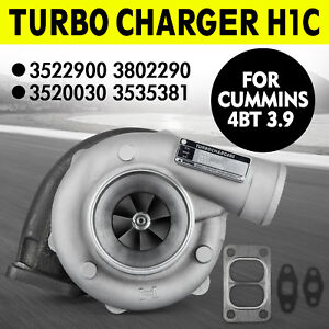 H1c Diesel Turbo Charger 3522900 3802290 3520030 3535381 For Cummins 4bt 3 9