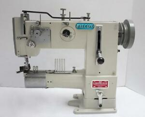 Falcon 269 Walking Foot Cylinder Bed Binder Industrial Sewing Machine Head Only