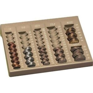 Coin Sorting Change Organizer Money Sorting Counter Pm Tray Best New Free Post