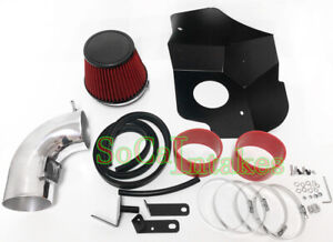 Red Heat Shield Cold Air Intake Kit For 2009 2015 Cadillac Cts Cts V 6 2l V8