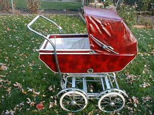 Vintage Baby Carriage Convertable Stroller From Wonda Chair1950 S 60s Chicago